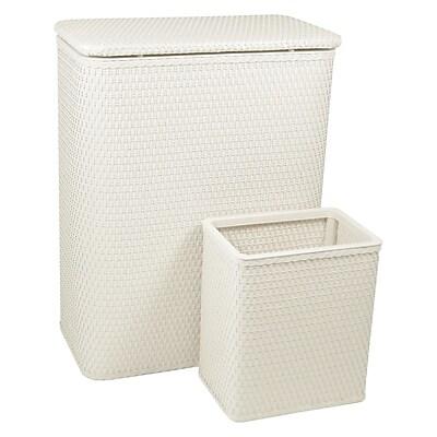 Redmon Chelsea Laundry Basket and Waste Basket