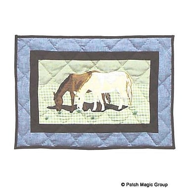 Patch Magic Horse Friends Placemat (Set of 4)