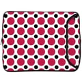 Designer Sleeves 10'' Netbook and iPad Sleeve; Pink and Black