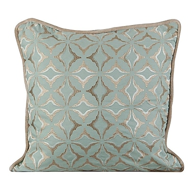Gracious Living Frost Throw Pillow; Charlotte Blue