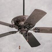 Emerson Fans 52'' Devonshire 5 Blade Ceiling Fan; Oil Rubbed Bronze with Oil Rubbed Bronze Blades