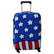 Ed Heck Stars n' Stripes 25'' Hardside Spinner Suitcase