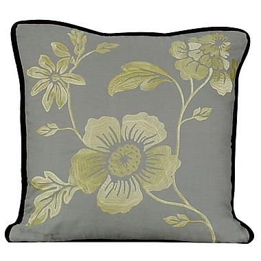 Gracious Living Royal Throw Pillow; Mist