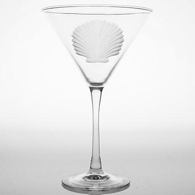 Rolf Glass Seashell Martini Glass (Set of 4)