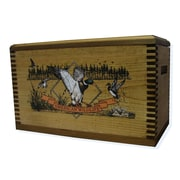 Evans Sports Wooden Accessory Box With ''Wildlife Series'' Duck Print