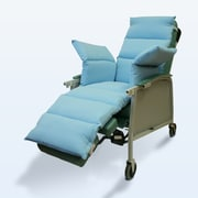NYOrtho Geri-Chair Comfort Seat Cushion; Light Blue