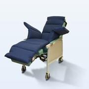 NYOrtho Geri-Chair Comfort Seat Cushion; Navy