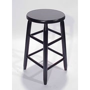Dixie Seating Lincoln 24'' Bar Stool; Black