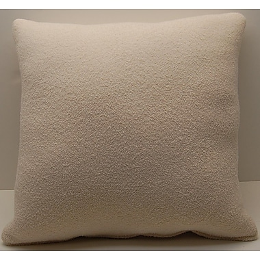 Dakotah Pillow Man of War Knife Edge Throw Pillow; Ecru