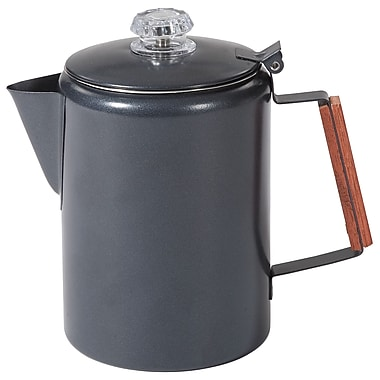 Stansport Granite Percolator Coffee Pot; 12 Cups