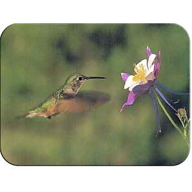 McGowan Tuftop Hummingbird and Columbine Cutting Board; Medium (12''x16'')