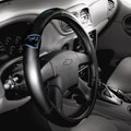 Northwest Co. NFL Steering Wheel Cover; Carolina Panthers
