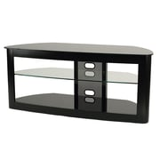 Transdeco Flat Panel TV Stand; Black