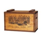 Evans Sports Standard Storage Box With Wood Ducks Print
