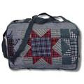 Patch Magic Denim Burst Shoulder Bag
