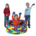 The Children's Factory 60 Piece Snap Block Set