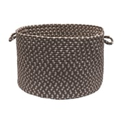 Colonial Mills Tiburon Utility Basket; Misted Gray