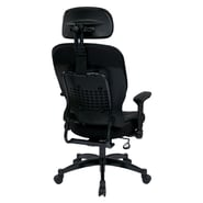 Office Star Space 23.25'' Eco Leather Managers Chair with Headrest