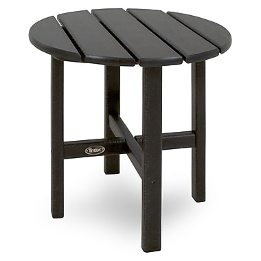 Trex Cape Cod Side Table; Charcoal Black