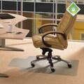 FLOORTEX Ecotex Standard Pile Carpet Lipped Chairmat; 48'' H x 36'' W x 0.08'' D