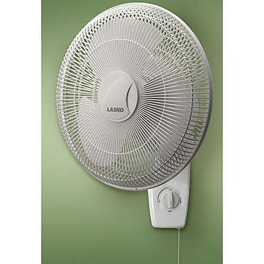Lasko 16'' Oscillating Wall Mount Fan