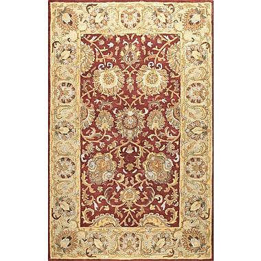 Bashian Rugs Essex Red Area Rug; 5'6'' x 8'6''