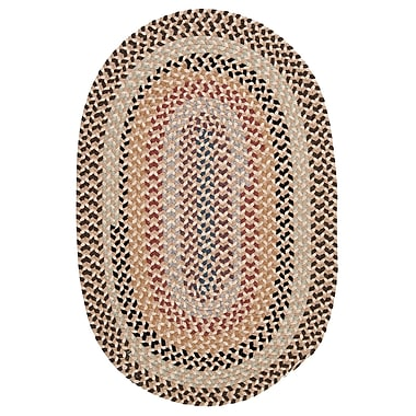 Colonial Mills Boston Common Harbour Lites Area Rug; Oval 8' x 11'