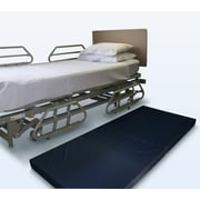 NYOrtho 3-Ply Vinyl Bedside Mat in Navy; 4'' H x 24'' W x 60'' D
