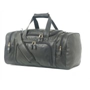 Mercury Luggage Highland II Series 21'' Leather Carry-On Duffel
