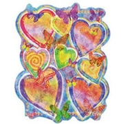 4 Walls Bright Hearts Accent Wall Mural