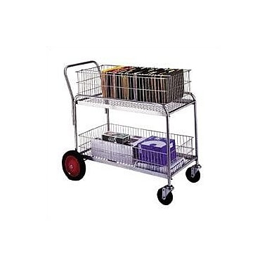 Wesco Mfg. 38.5'' Deluxe Large Office Cart