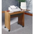 Ironwood Typing Stand; Dixie Oak