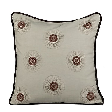 Gracious Living Dazzle Throw Pillow; Fog Green