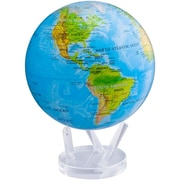 MOVA 8.5'' Blue Oceans Relief Map Globe with Crystal Base