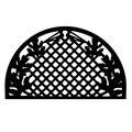 Imports Decor Grid Leaves Doormat; 18'' x 30''