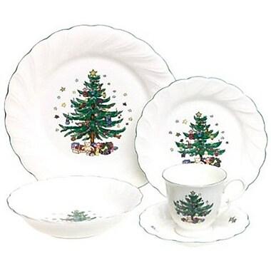 Nikko Ceramics Happy Holidays 5 Piece Place Setting