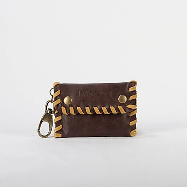 Sacs of Life Sew Chic Keychain Wallet; Chocolate