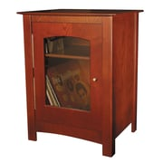 Crosley Williamsburg Audio Cabinet; Paprika