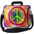Designer Sleeves Executive Sleeves Peace PC Laptop Bag; 17''