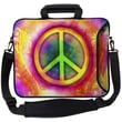 Designer Sleeves Executive Sleeves Peace PC Laptop Bag; 15''