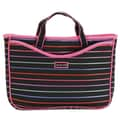 Hadaki Pencil Stripes Neoprene Laptop Sleeve; Pencil Stripes Berry