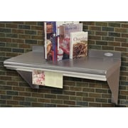 A-Line by Advance Tabco Recipe Holder; 1'' H x 37'' W x 3'' D