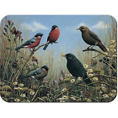 McGowan Tuftop Blackbird and Bullfinch Cutting Board; Medium (12''x16'')