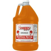 Snappy Popcorn Snow Cone Syrup; Orange