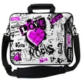 Designer Sleeves Executive Sleeves Love Rocks PC Laptop Bag; 15''