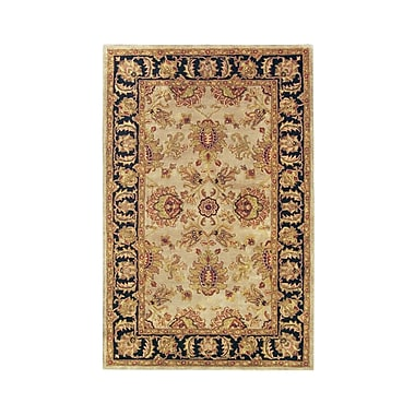 Noble House Imperial Camel/Blue Area Rug; 3'6'' x 5'6''