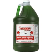 Snappy Popcorn Snow Cone Syrup; Lime