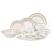 Lorren Home Trends Amelia 57 Piece Dinnerware Set