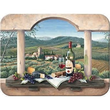McGowan Tuftop Wine Country Cutting Board; Small (9''x12'')