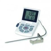 CDN Combo Probe Thermometer/Timer/Clock; White
